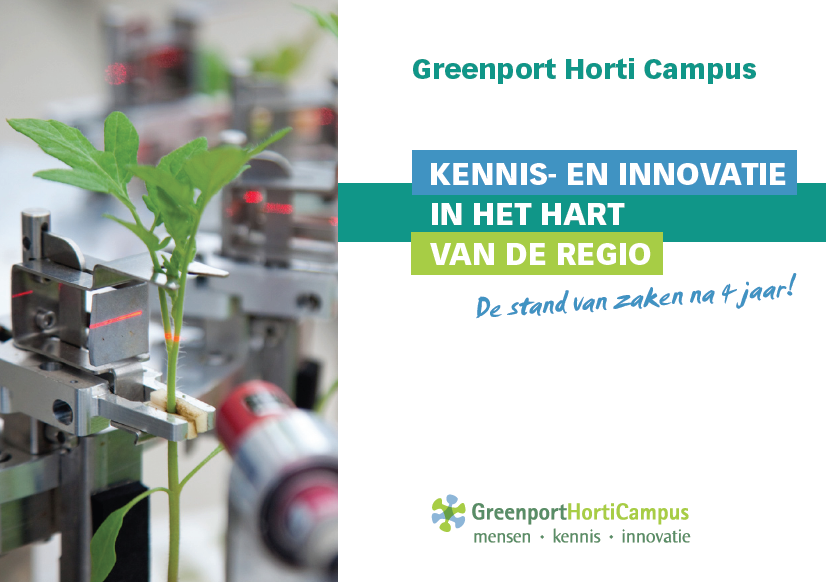 Greenport Horticampus 4 jaar