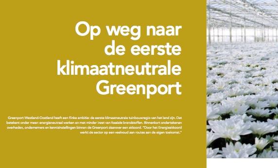 Artikel KAS: Op weg naar de eerste klimaatneutrale Greenport