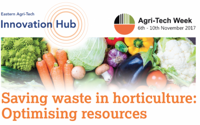 Bijeenkomst 'Saving waste in horticulture: Optimising resources' op 10 november