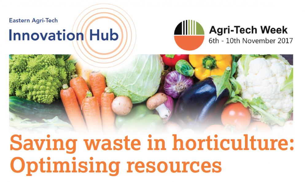 Bijeenkomst 'Saving waste in horticulture: Optimising resources' op 10 november