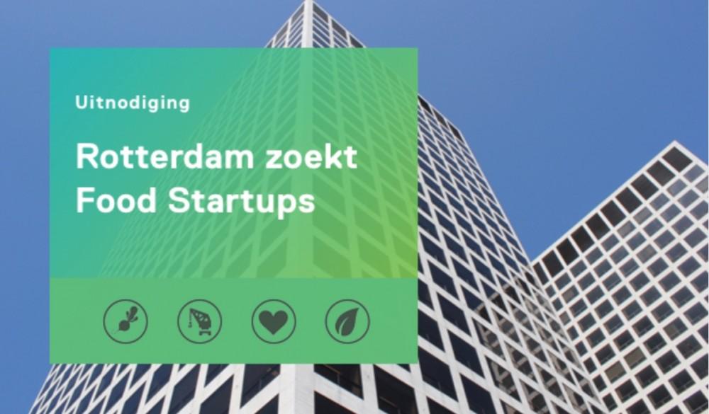 Bijeenkomst voor food-startups in Rotterdam op 8 november