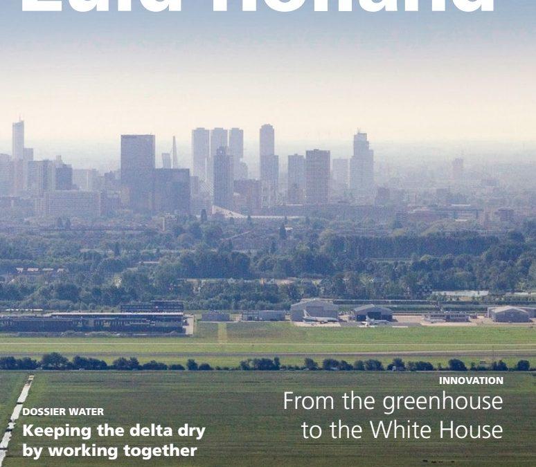 Internationaal magazine over Zuid-Holland