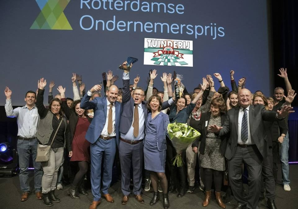 Tuinderij Vers wint Rotterdamse Ondernemersprijs