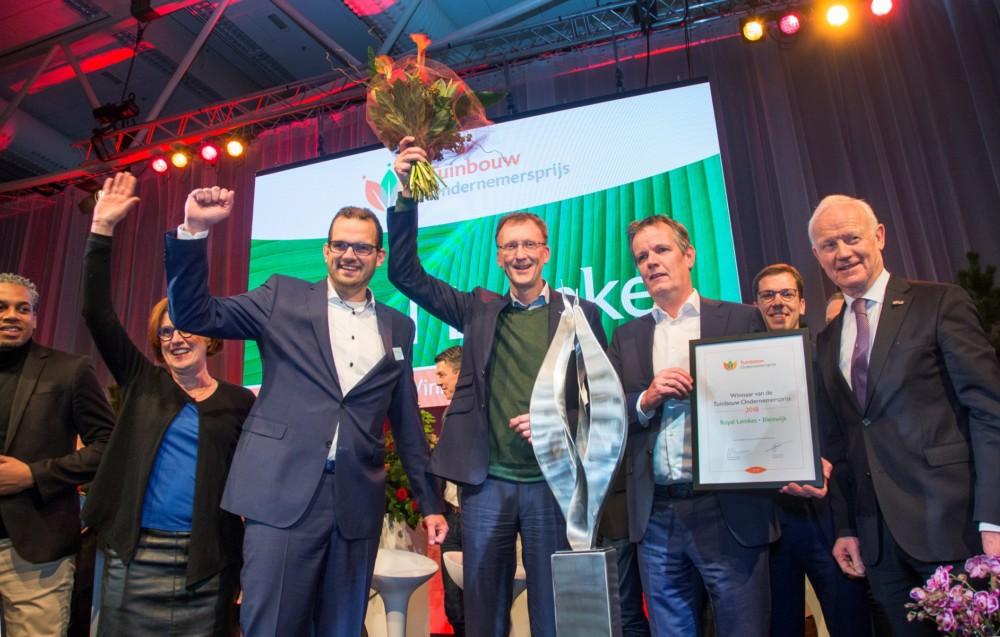 Royal Lemkes wint Tuinbouw Ondernemersprijs 2018