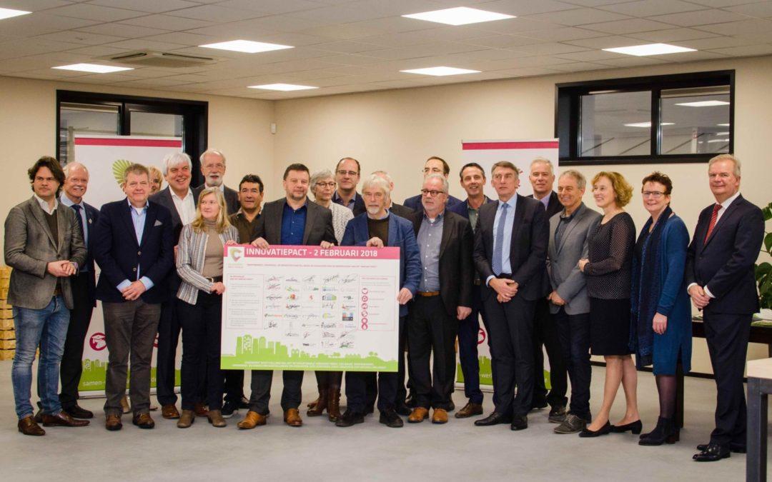 Versterking toppositie Nederlandse tuinbouw door ondertekening Innovatiepact Greenport