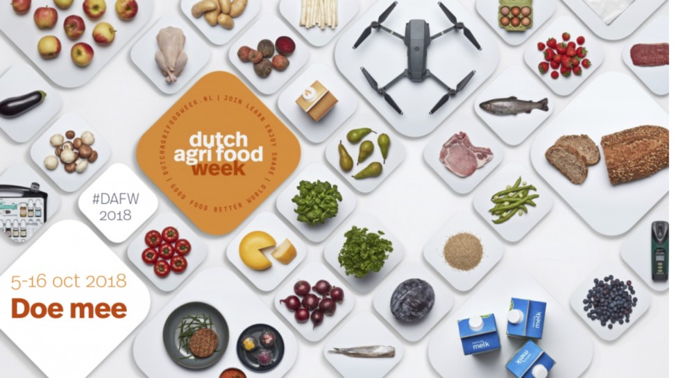Dutch Agri Food Week 2018 groter dan ooit