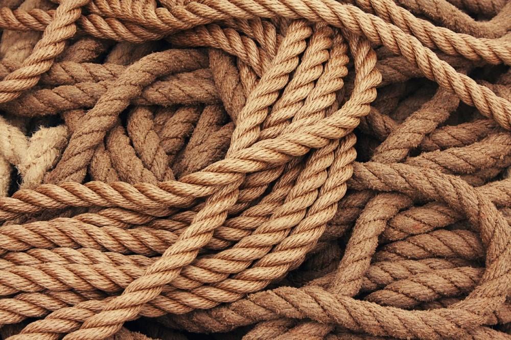 Een touw van 25 km
