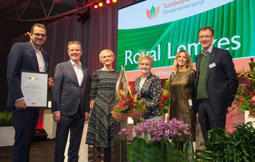 Aanmeldprocedure Tuinbouw Ondernemersprijs 2019 gestart