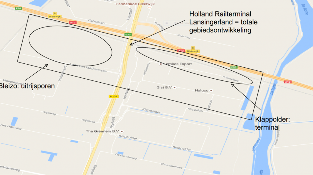 Holland Rail Terminal in 2022