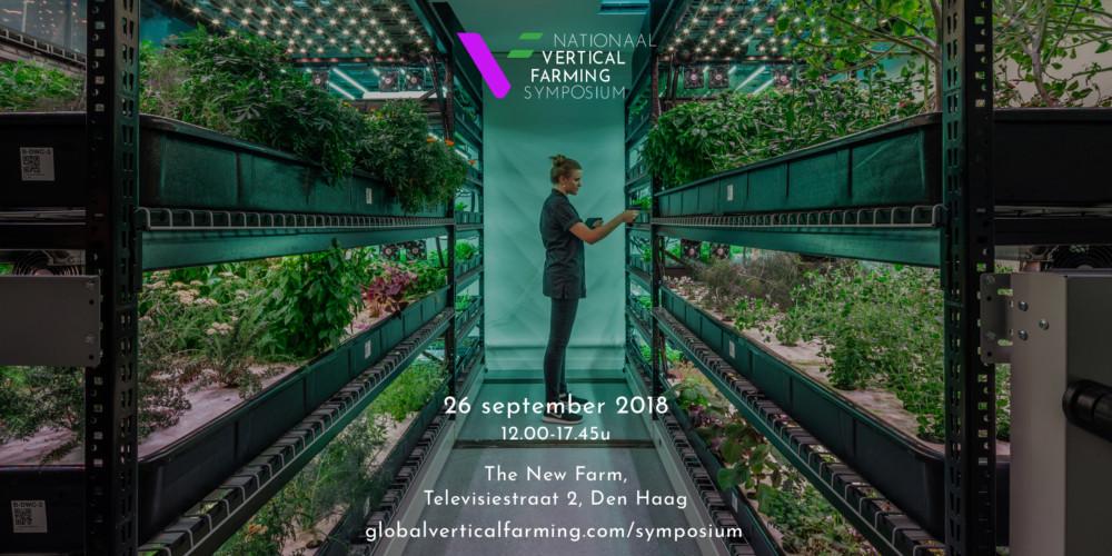 Eerste Nationaal Vertical Farming Symposium