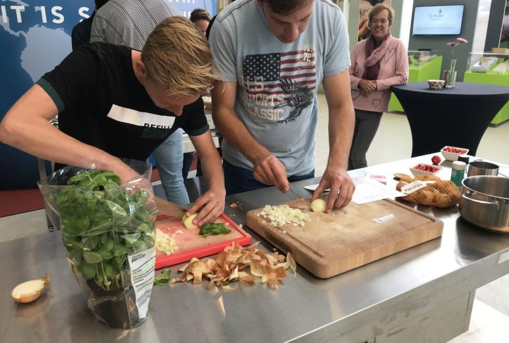 Studenten maken per solex kennis met heerlijke tuinbouwproducten