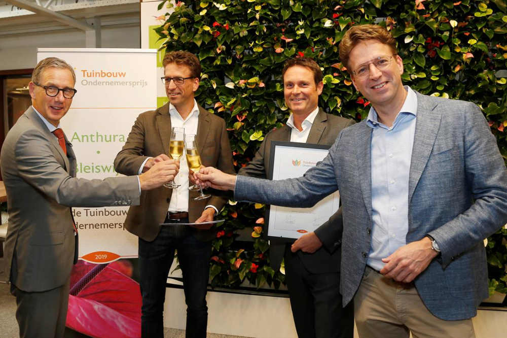 Finalisten Tuinbouw Ondernemersprijs 2019 bekend