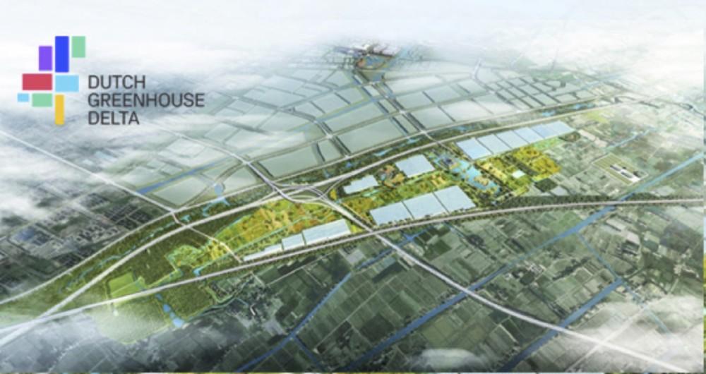 Startsein voor Chinees High-Tech Agriculture Park met Horti Center