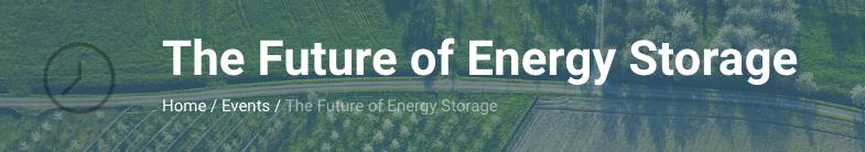 Bijeenkomst 'The future of energy storage'