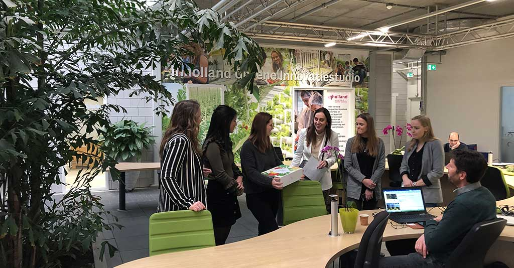 Studenten Inholland bedenken biobased-communicatiestrategie