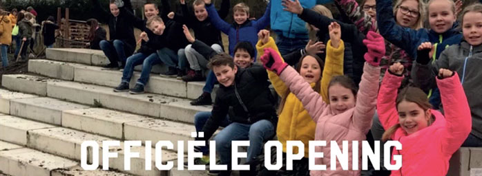 13 maart feestelijke opening educatieve schooltuin