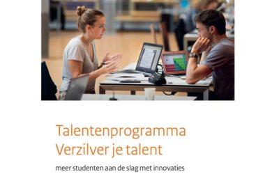 Project Vertical Farming opgenomen in talentenprogramma