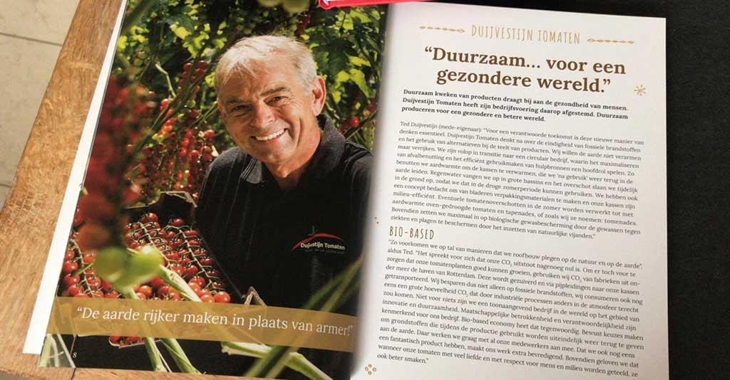 Receptenboek 'Heerlijk uit onze streek' gepresenteerd