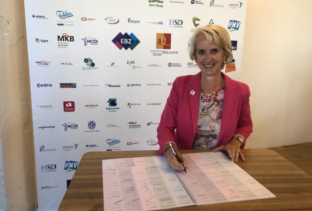 Greenport ondertekent deelakkoord Human Capital Akkoord