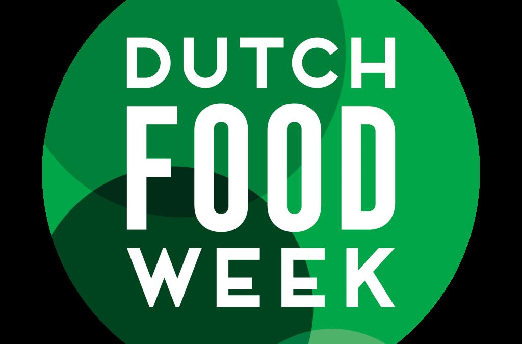 Nieuwe naam en nieuw logo voor Dutch Food Week