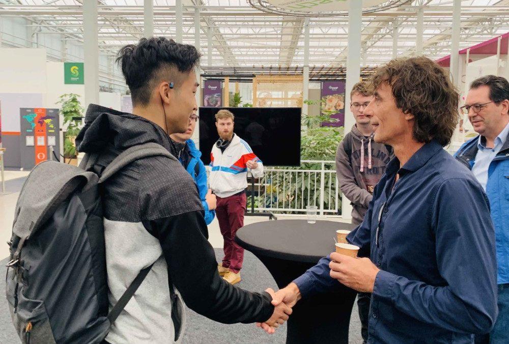 Bedrijven maken hbo-studenten enthousiast voor de glastuinbouwsector