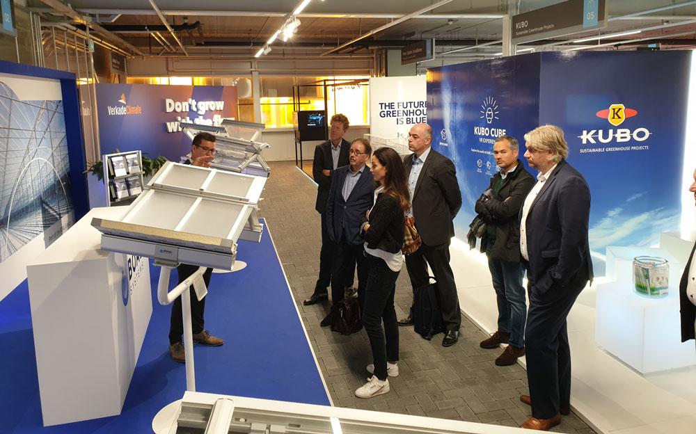 Ministeries I&W en EZK brengen werkbezoek aan locatie Holland Rail Terminal