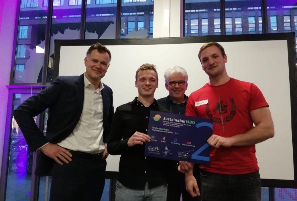 Tweede prijs voor Wellantcollege bij landelijke verkiezing duurzaam mbo