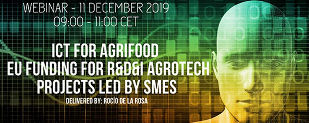 TRACK-Webinar 'Growing data: 4.0 Technologies for Agribusiness' op 11 december