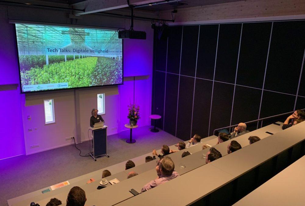 Workshop over digitale beveiliging in de tuinbouw