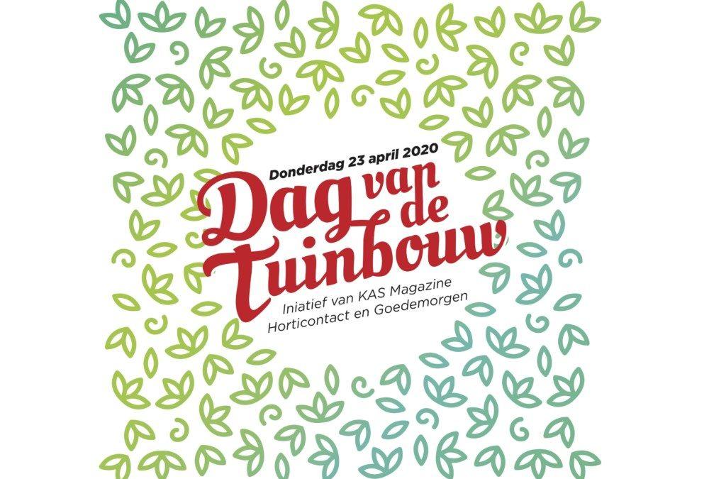Dag van de Tuinbouw op 23 april
