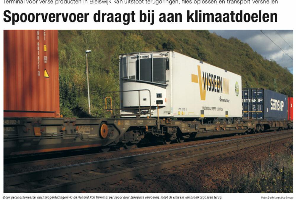Veel aandacht in vakpers voor Holland Rail Terminal