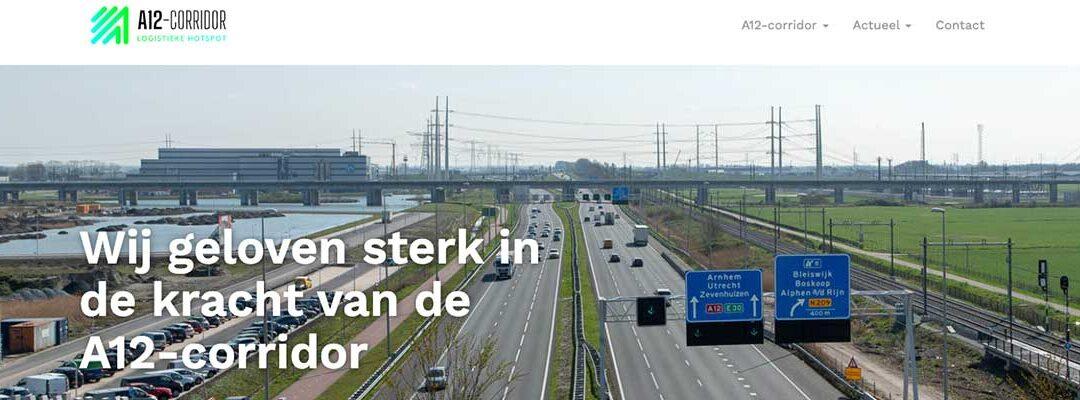Website van A12-corridor live