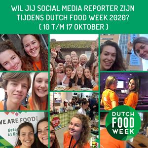 Word jij reporter tijdens #DFW2020?