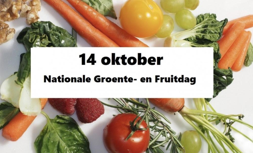 14 oktober 2020: Nationale Groente- en Fruitdag