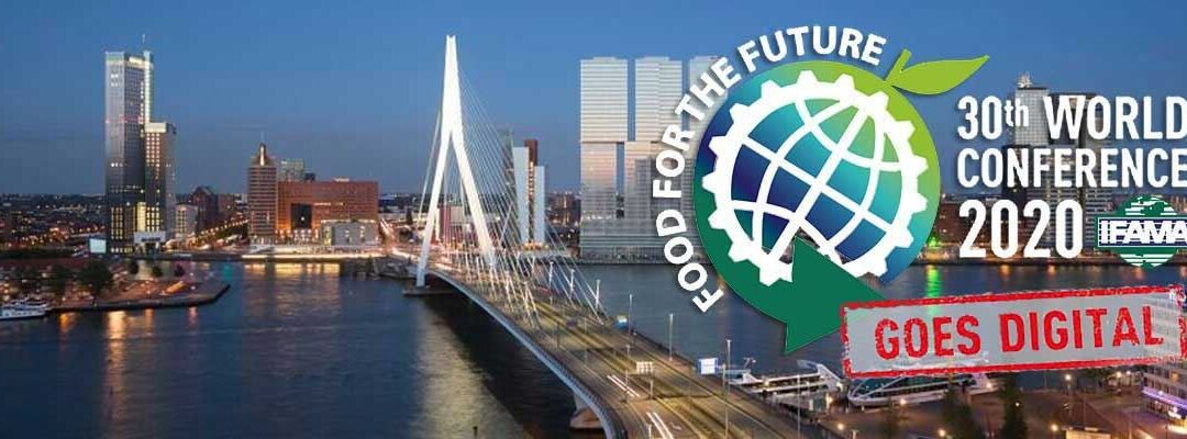 22-24 september Online symposium IFAMA 2020