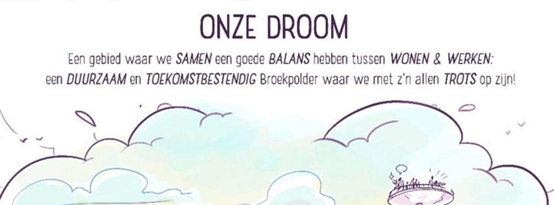 Bewoners, bedrijven en overheden tekenen convenant Broekpolder