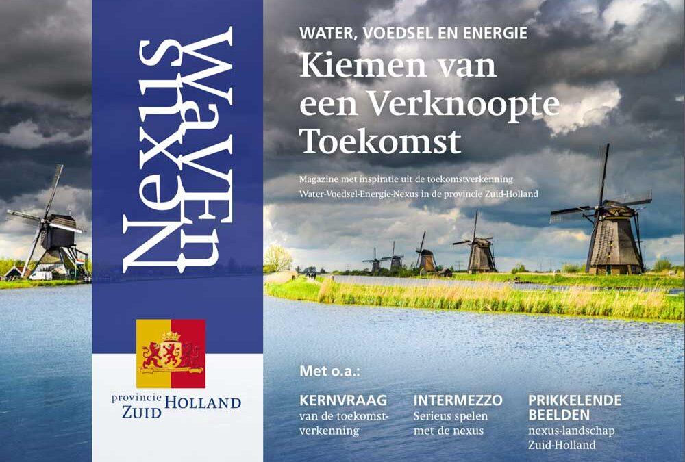Nexus-Inspiratie magazine over water, voedsel en energie-opgaven (Wa-V-En)