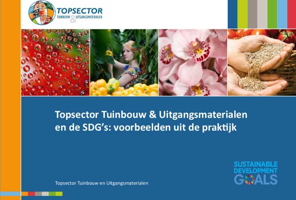 Tuinbouw en de Sustainable Development Goals