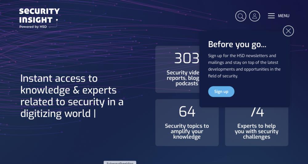 Veiligheidscluster HSD lanceert kennis & innovatieplatform